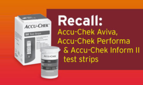 Diabetes Test Strips Recalled